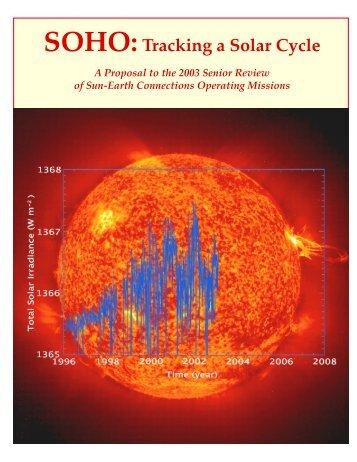Tracking a Solar Cycle - SoHO - Nasa