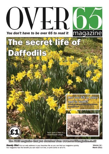 the secret life of daffodils - GMB Yorkshire and North Derbyshire