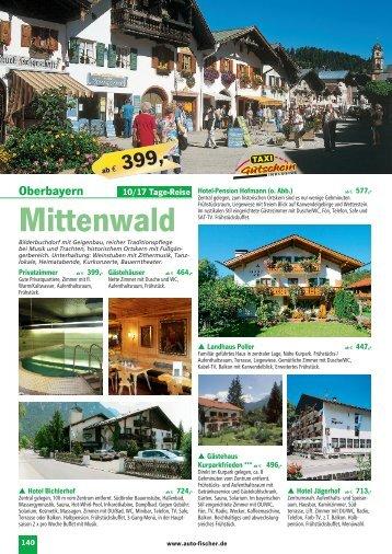 Mittenwald - Auto Fischer Reisen