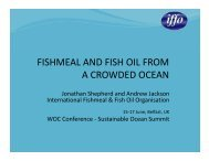 fishmeal and fish oil from a crowded ocean - World Ocean Council