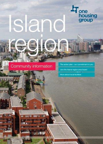 Island Region - Community information - One Housing Group