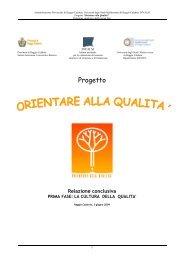 Progetto Orientare alla Qualità - Invalsi