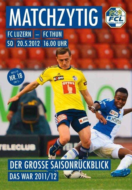 Ausgabe 18 - FC Luzern