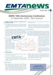 n°34 - November 2008 - EMTA