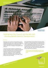 Nottingham City Council and Kendric Ash - East Midlands Councils