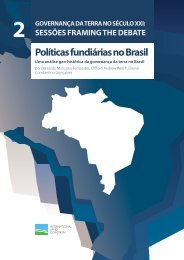 Políticas fundiárias no Brasil - International Land Coalition