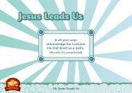 Jesus Leads Us - T F I O n l i n e