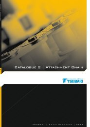 Catalogue 2 | Attachment Chain - Tsubaki Europe