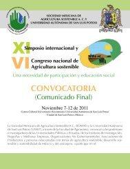 CONVOCATORIA - Colegio de Postgraduados