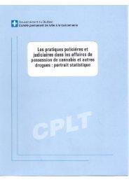 Les pratiques policières et judiciaires dans les affaires de ...