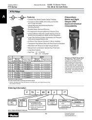 F75 Filter - MRO Stop