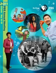conference program brochure - PBS