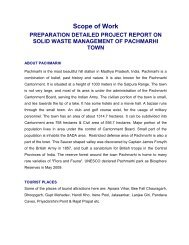 Scope of Work for inviting technical proposal on Solid Waste ... - EPCO