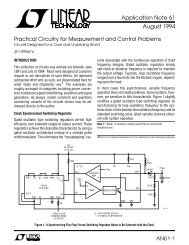 AN61-1 Application Note 61 August 1994 Practical Circuitry for ...