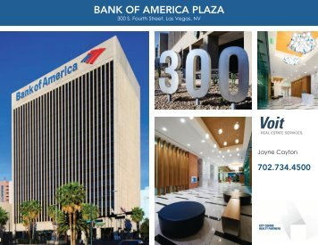 Bank of america Plaza - Voit Real Estate Services