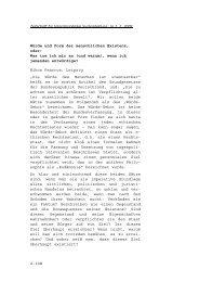 Würde und Form der menschlichen Existenz - Zeitschrift für ...