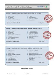 colibri X7 protect – Price List and Packages www ... - Robust-pc.de