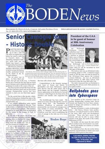 Senior Camogie team - Historic Double - Ballyboden St. Enda's GAA