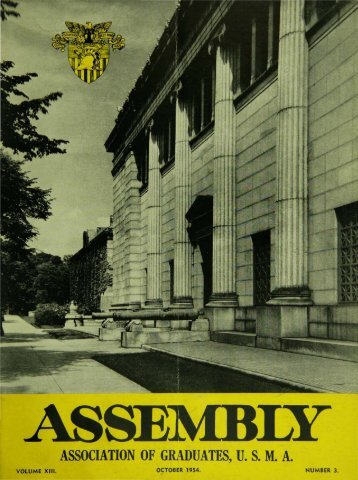 association of graduates, usma - USMA Library Digital Collections ...
