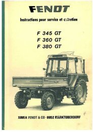 Page 1 Page 2 Page 3 PORTE-OUTILS FENDT F 345 GT F 360 GT ...