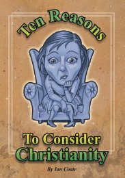 Ten Reasons to Consider Christianity - Free Christian Illustrations