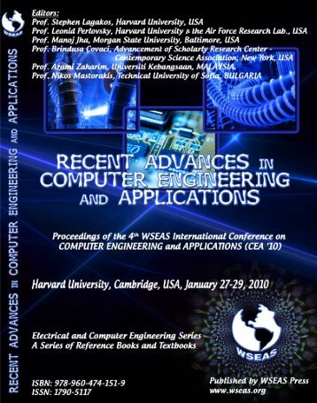 Recent Advances in Computer Engineering and ... - Wseas.us
