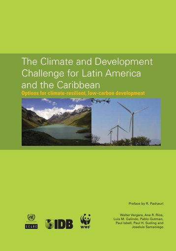 The Climate and Development Challenge for Latin ... - Asogravas