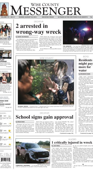 08-22-2010-Sunday - Wise County Messenger
