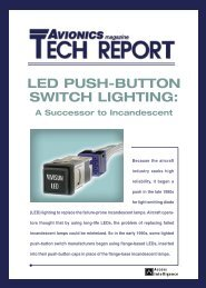 LED Push Button Switch Lighting - Aviation Today