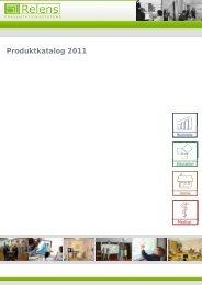 Produktkatalog 2011 - Relens