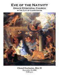Christmas Eve 11:00 - Grace Episcopal Church