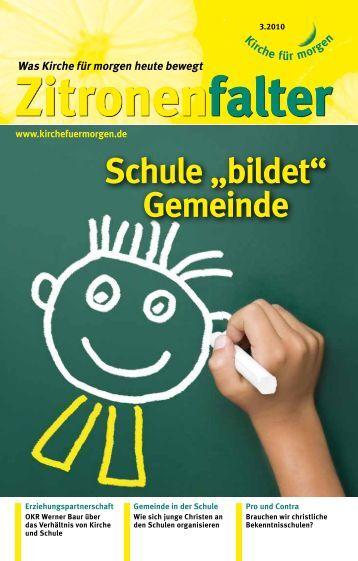 """Schule """"bildet"""" Gemeinde - Kirche für morgen"""