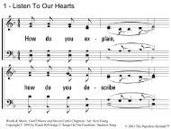 1 - Listen To Our Hearts