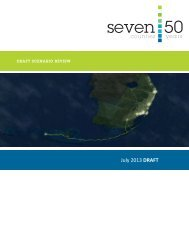 DRAFT Scenario Report - Seven50