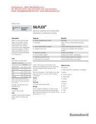 SILFLEX® 9 - Best Materials