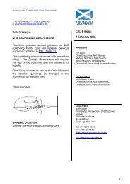 CEL 6 (2008) - Scottish Government Health Directorates