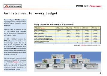 Promax Prolink 4C Premium - CN Rood