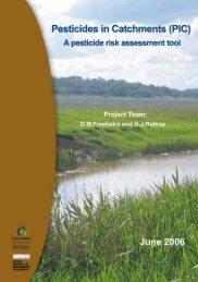 Pesticides in Catchments - Grains Research & Development ...