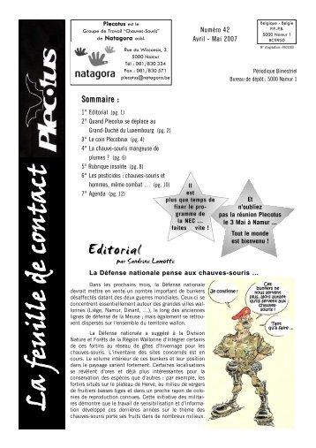 Numéro 42 - Natagora