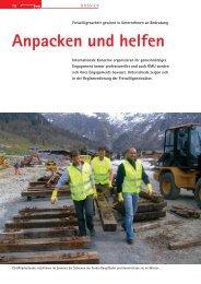Anpacken und helfen - Bergwaldprojekt