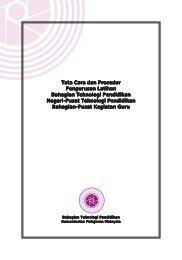 TATACARA & PROSEDUR (1-80) - Bahagian Teknologi Pendidikan
