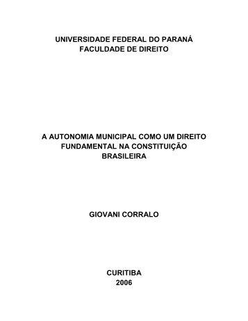 A autonomia municaipal como um direito - Empreende.org.br