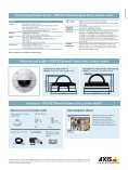 AXIS P33 Network Camera Series — Outdoor models - Page 4