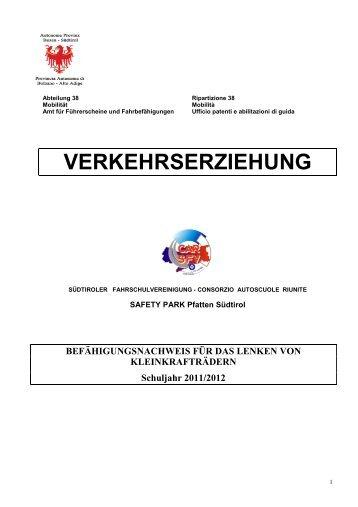klicken - Schule und Kindergarten in Südtirol - Provincia Autonoma ...