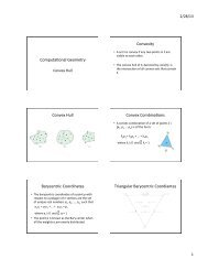 ComputaAonal Geometry Convexity Convex Hull Convex ...