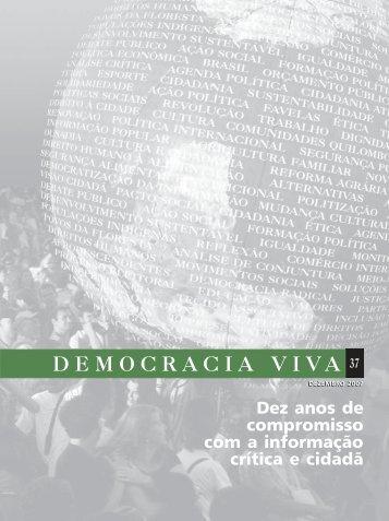 DEMOCRACIA VIVA 37 - Ibase