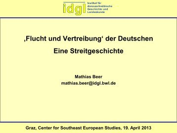 Beer FluV PPP Graz Neu 2013 04 18.pdf - Centre for Southeast ...