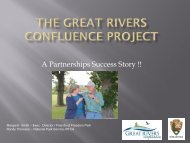 26. The Great Rivers Confluence Project - National Training Center