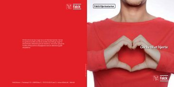 Giv liv til et hjerte Falck Hjertestarter