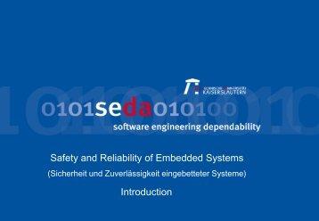 Entwicklung von Software Systemen 1 - Dependability